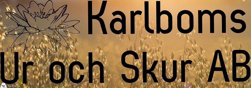Karlboms Ur och Skur AB