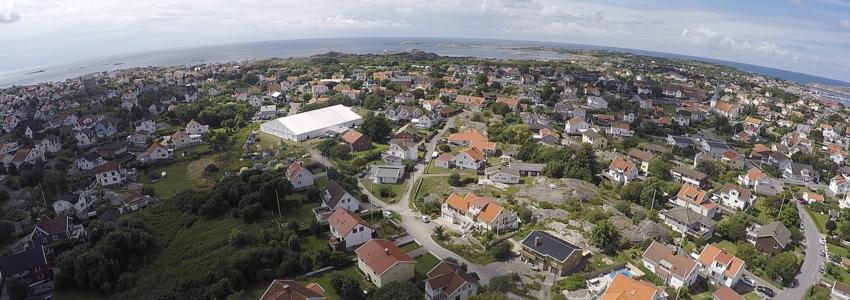 Flygfotografering av hus - från 600kr/h
